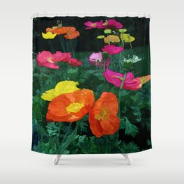 Poppies Two Shower Curtain
