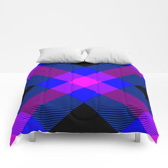 Tartan Pattern 4 Comforters