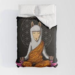 Llama Yoga Alpaca Zen Meditation Comforters