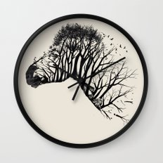 Wild Zebra Wall Clock