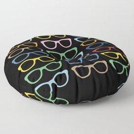 Sunglasses at Night Floor Pillow