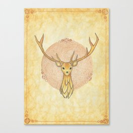 Wow, That's a Nice Deer Canvas Print