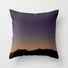 Gloaming Gradient Throw Pillow