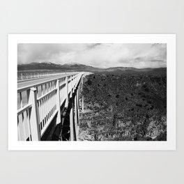 Side Bridge Art Print