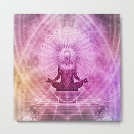 Meditation Zen Metal Print