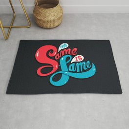 The Same is Lame Rug