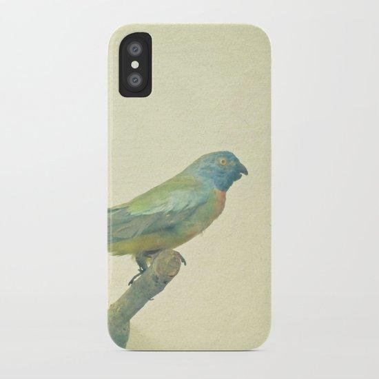 Bird Study #3 iPhone Case