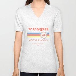 Vespa 46 Unisex V-Neck