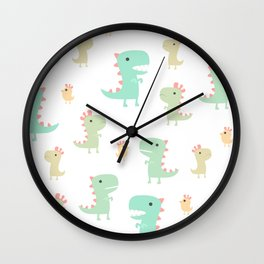 Evolution of a Chicken Pattern Wall Clock