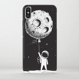 Fly Moon iPhone Case