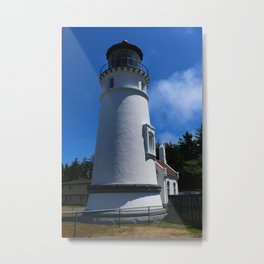 Lighthouse on Winchester Bay Metal Print
