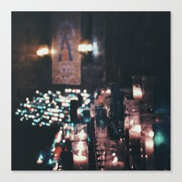 Montserrat Lights Canvas Print