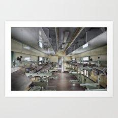 medical train Art Print