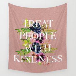 Treat People With Kindness graphic artwork / Harry Styles Wall Tapestry