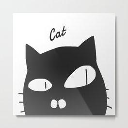 cat-13 Metal Print