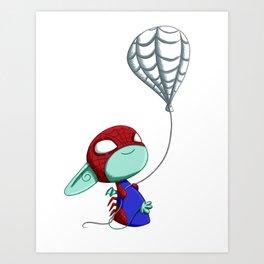SpiderImp(ling) Art Print