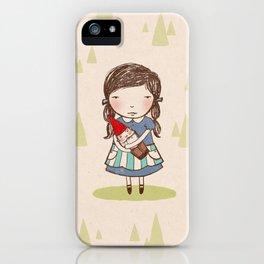 Gnome Girl iPhone Case