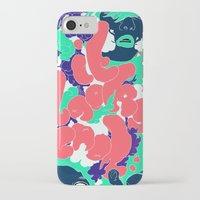 lungs iPhone & iPod Cases featuring Lungs by LAM Hamilton