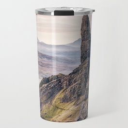 Old Man of Storr, Isle of Skye, Scotland Travel Mug