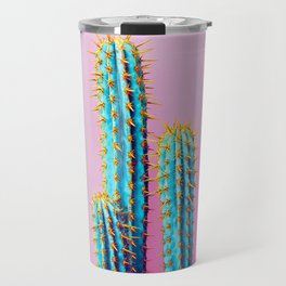 Succulent Cactus Art Travel Mug