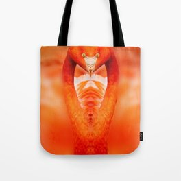 Cobra In Striking Position Tote Bag