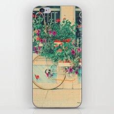 Summer Bicycle iPhone & iPod Skin