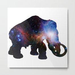 Galaxy Elephant Metal Print