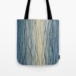 Abstract waves, abstractions, geometric shapes, geometry Tote Bag