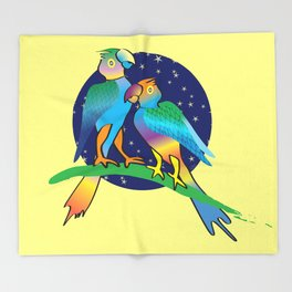 Talking To The Stars Throw Blanket