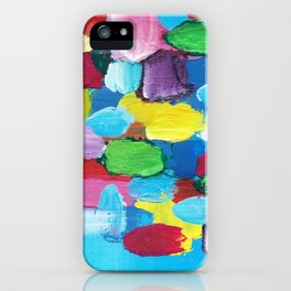 Colorful Day Abstract iPhone Case