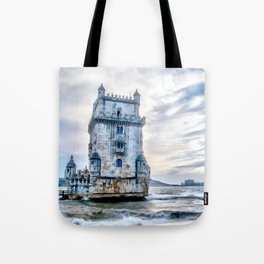 Belém Tower, Lisbon (Portugal) Tote Bag