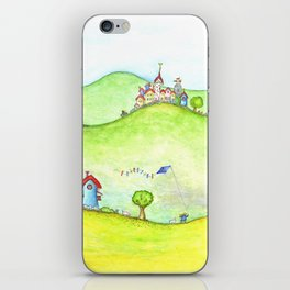 The hills iPhone Skin