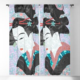 The Bamboo Cutter's Daughter Blackout Curtain