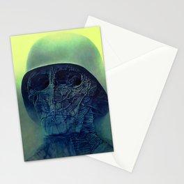 Untitled (The Soldier) by Zdzisław Beksiński Stationery Cards