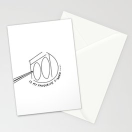 Food is my favourite F* word Stationery Cards