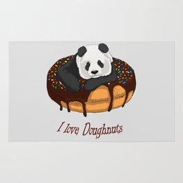 I Love Doughnuts Rug