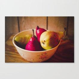 Pears II Canvas Print