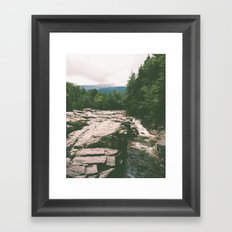 rocky gorge Framed Art Print