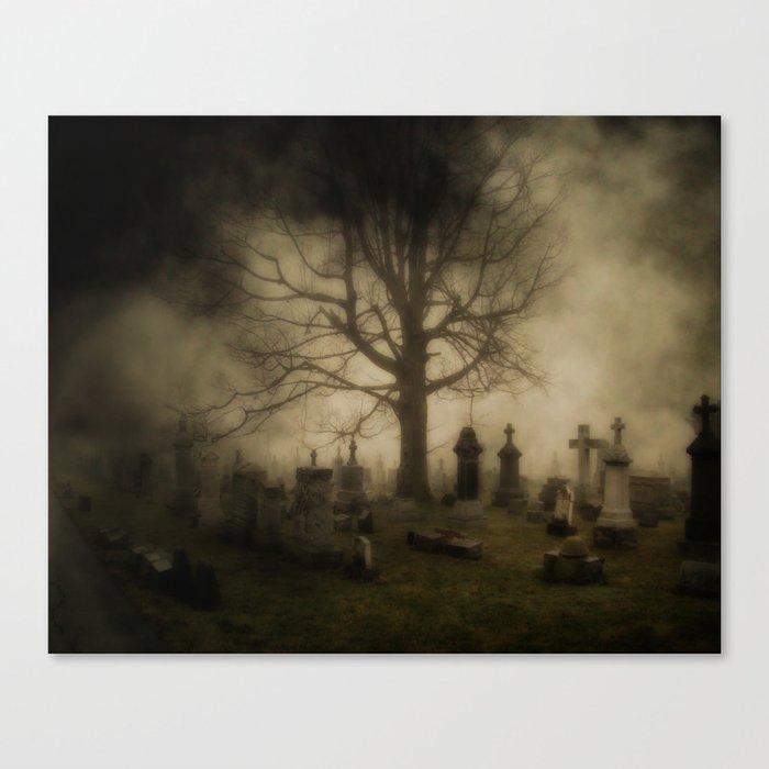 Unsettling Fog Canvas Print