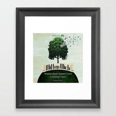 MITTEN WICK Framed Art Print