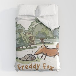Freddy Fox Lost His Conkers Cover Comforters