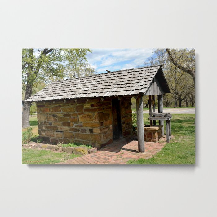 Prairie Grove Battlefield - The Latta Homestead, Established in 1834, No. 4 of 5 Metal Print