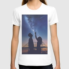 We Watched The Stars Our Last Day Together T-shirt