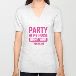 Party At My House Unisex V-Neck