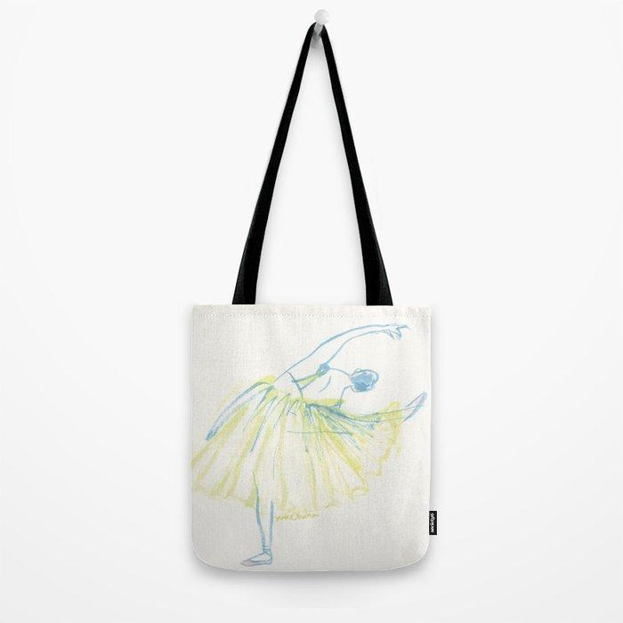 A Ballerina Tote Bag