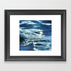 Les Baigneuses Framed Art Print