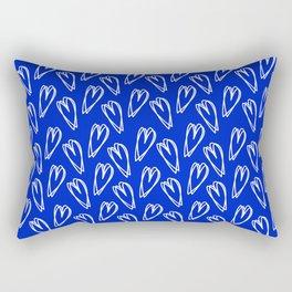 Double Heart Rectangular Pillow