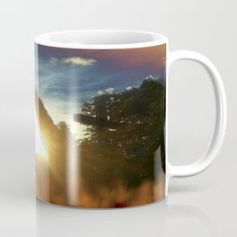 Fire at the tower Coffee Mug