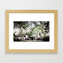 Pianoman #2 Framed Art Print