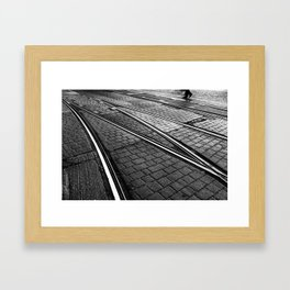 Evening Commute Framed Art Print